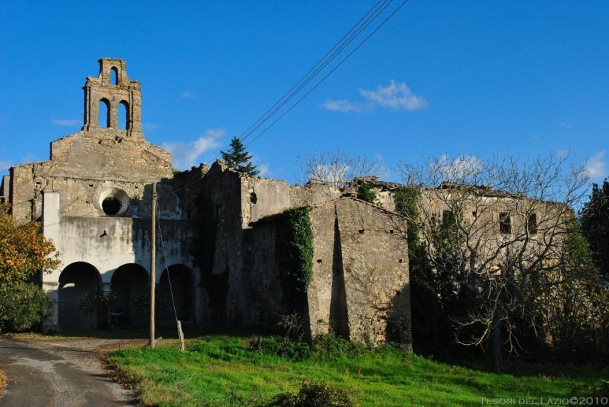 rignano_flaminio_(rm)_-_monastero_s.maria_delle_grazie_diruto_-_foto_di_g._garofoli_(11-2009)