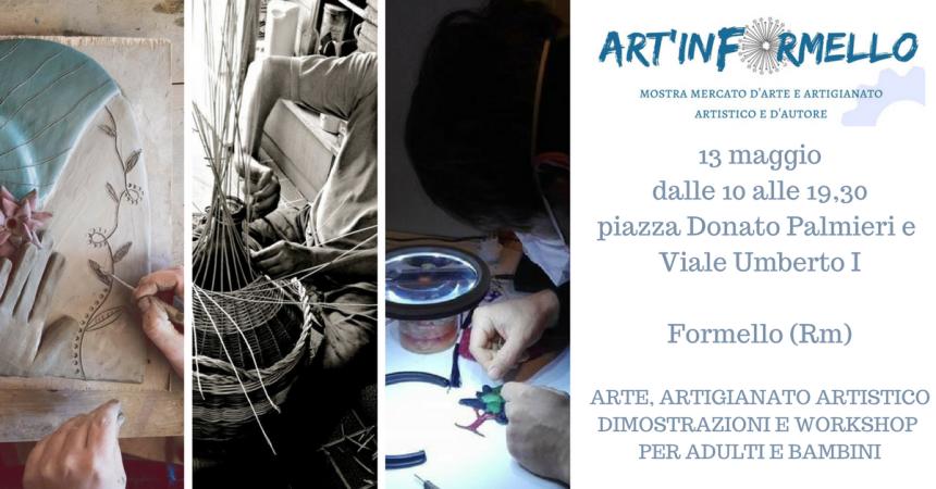 13 maggiodalle 10 alle 19,30piazza Donato Palmieri e Viale Umberto IFormello (Rm) (1)